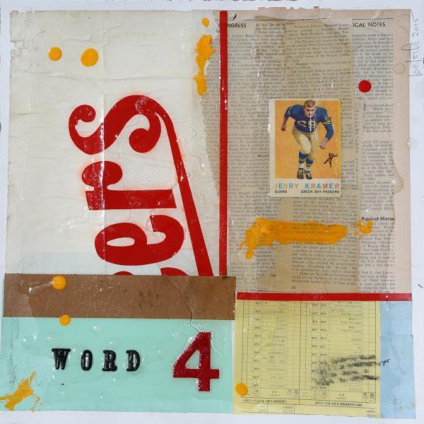 Word 4 (study) by Joe Forte