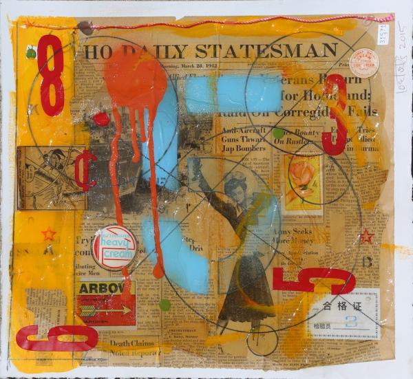 Daily Statesman (study) by Joe Forte